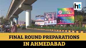 'Namaste Trump': Ahmedabad's Motera Stadium getting decked up to host US President [Video]