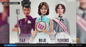 New Barbies Honor Women's History Month [Video]