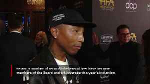 Pharrell Williams joins Rock and Roll Hall of Fame Board [Video]