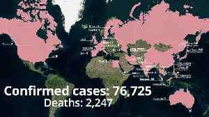 Coronavirus: The confirmed cases around the world [Video]