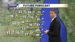 Returning to warmer temperatures this weekend [Video]