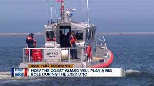 United States Coast Guard prepares for the DNC [Video]