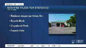 Hillsborough County fire station gets new truck to help lower response times [Video]