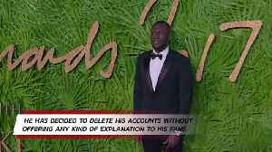 Stormzy deletes his Twitter and Instagram accounts [Video]
