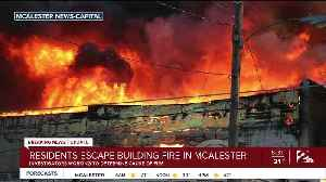 Residents Escape Building Fire In McAlester [Video]
