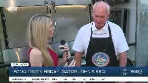 Food Truck Friday: Gator John's BBQ 1 [Video]