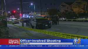 Woman Armed With Knife Wounded In LAPD Shooting [Video]