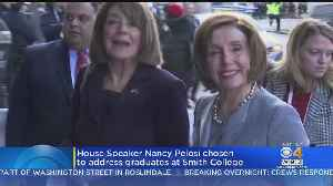 House Speaker Nancy Pelosi To Deliver Commencement Address At Smith College [Video]
