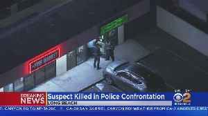 Man Killed By Officers After Allegedly Shooting 2 In Long Beach [Video]
