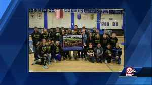 Leavenworth HS Army JROTC unveils official championship team photograph [Video]