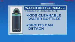 5.7 Million Kids Water Bottles Recalled Due To Choking Hazard [Video]
