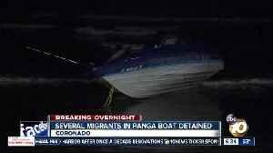 Panga boat washes ashore in Coronado [Video]