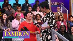 """Tamron Hall"" Audience Member Wins Trip To Disney World [Video]"