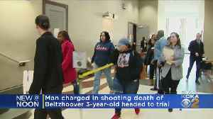 Man Charged In Shooting Death Of 3-Year-Old Girl Headed To Trial [Video]
