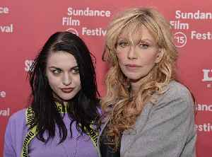 Courtney Love and Frances Bean Cobain pay tribute to Kurt Cobain [Video]