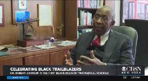 Black History Month: Rutgers Medical Dean Calling For More Black In Medical Fields [Video]