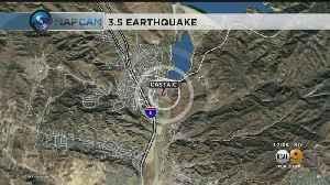 Magnitude-3.5 Earthquake Strikes Castaic [Video]