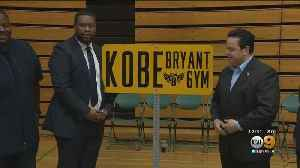 Carson Renames City Gym After Kobe Bryant [Video]
