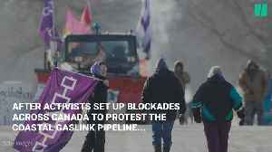 Protest Blockades Highlight Canada's Need For Rail Roads [Video]