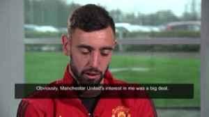 Fernandes: Joining Man Utd was my dream [Video]