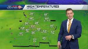 Becoming cloudy Saturday; Rain on way Sunday [Video]