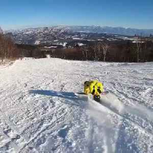 Guy Attempts Snowboarding Trick And Falls [Video]