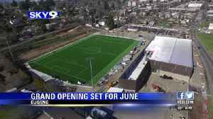 Civic Park will hold its grand opening on June 6 [Video]