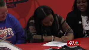 Central's Kristen Gilbert becomes first-ever softball player to sign at a NCAA school [Video]