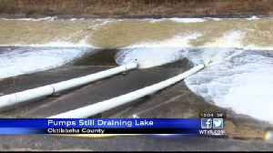 Pumps still draining, relieving stress against dam at Oktibbeha County Lake [Video]