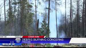 Burn or chip? Residents on the ridge work to clear out dead vegetation [Video]