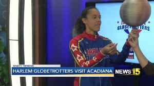 hARLEM gLOBETROTTERS STOP BY [Video]