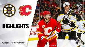 NHL Highlights | Bruins @ Flames 2/21/20 [Video]