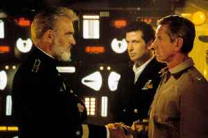 The Hunt for Red October movie (1990) Sean Connery, Alec Baldwin, Scott Glenn [Video]