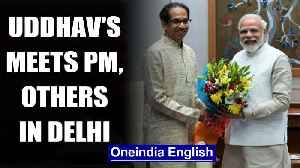 Uddhav Thackeray meets top leaders in New Delhi, including PM Modi| OneIndia News [Video]
