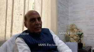 Situation improving fast in Kashmir: Rajnath Singh [Video]