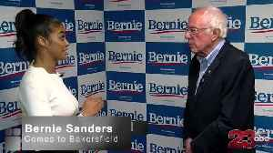 Bernie Sanders talks politics with 23ABC [Video]