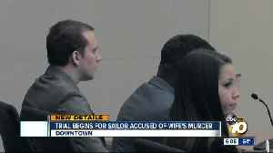 Trial begins for ex-sailor accused of wife's murder [Video]