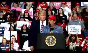 """""""Miracle on Ice"""" former captain speaks at Trump rally [Video]"""