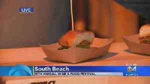 South Beach Wine & Food Festival Burger Bash [Video]