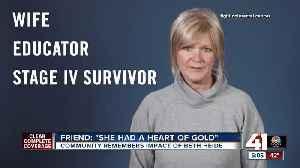 Colleagues, friends remember late teacher, cancer advocate [Video]