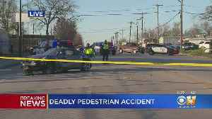 1 Dead, Another In Serious Condition Following Auto-Pedestrian Crash In Fort Worth [Video]