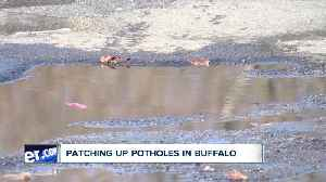 Where are people reporting the most, and the worst, potholes in Buffalo? [Video]