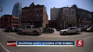Police make safety a priority in downtown Nashville after slight increase in crime [Video]