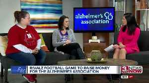 Rivalz football game to raise money for Alzheimer's Association [Video]