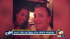 Navy vet on trial for wife's murder [Video]