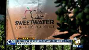 Sweetwater superintendent to ask for layoffs, cuts [Video]