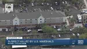 US Marshals shoot, kill arrest warrant suspect. [Video]