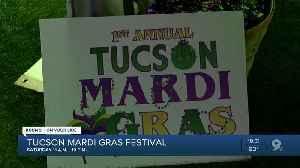 1st annual Tucson Mardi Gras Festival kicks off [Video]