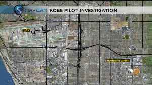 FAA Previously Disciplined Kobe Bryant's Pilot Over Weather-Related Violation [Video]