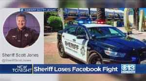 Sacramento Sheriff Loses Facebook Fight [Video]
